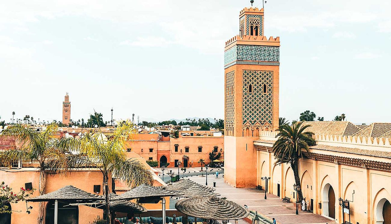 Medina in Marrakesch