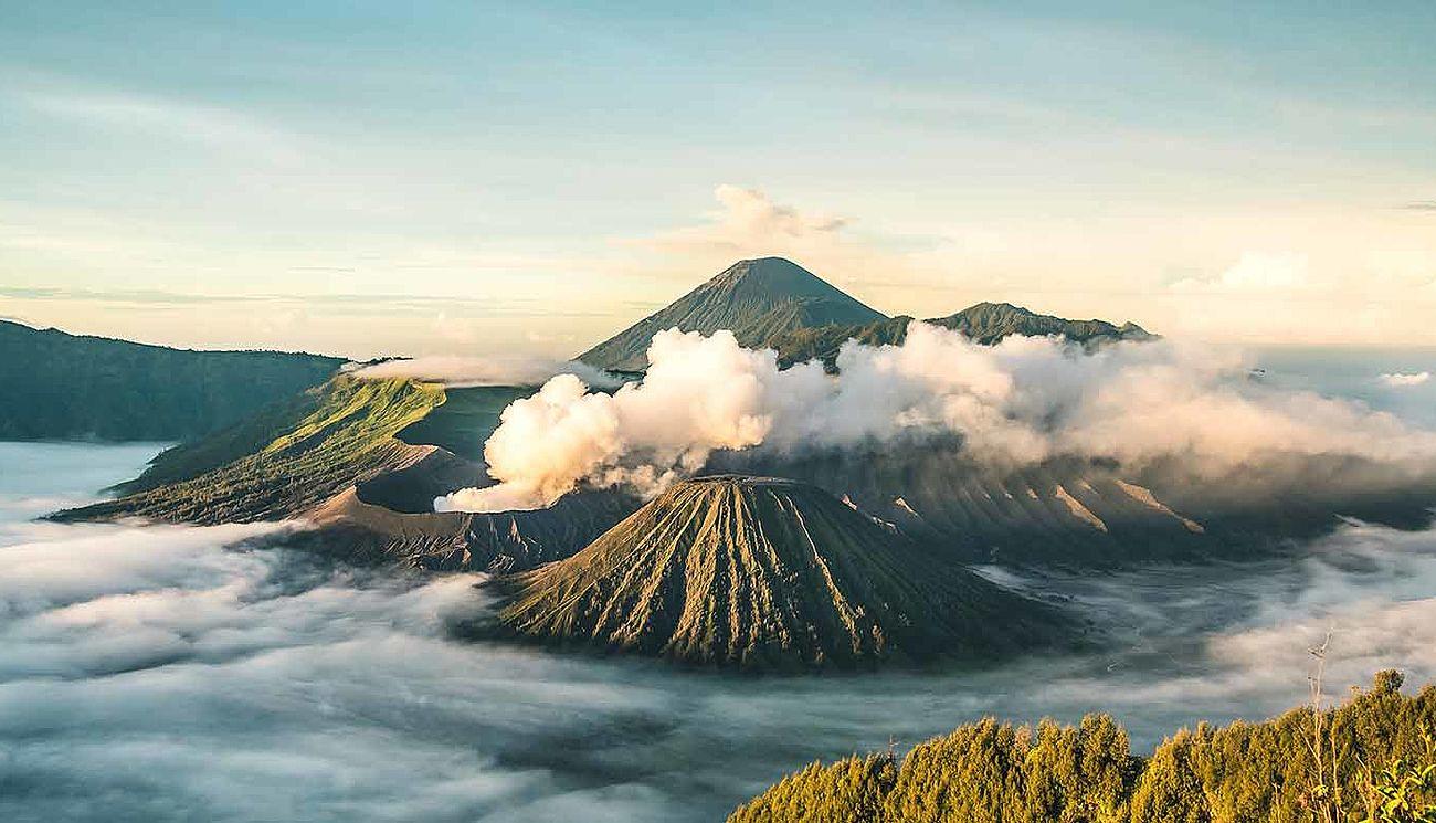 Indonesien Vulkan