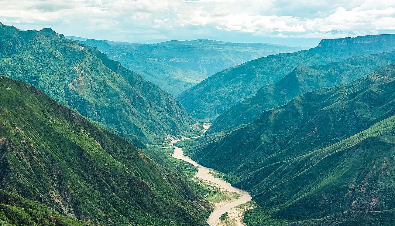 Chichamocha Canyon in Kolumbien