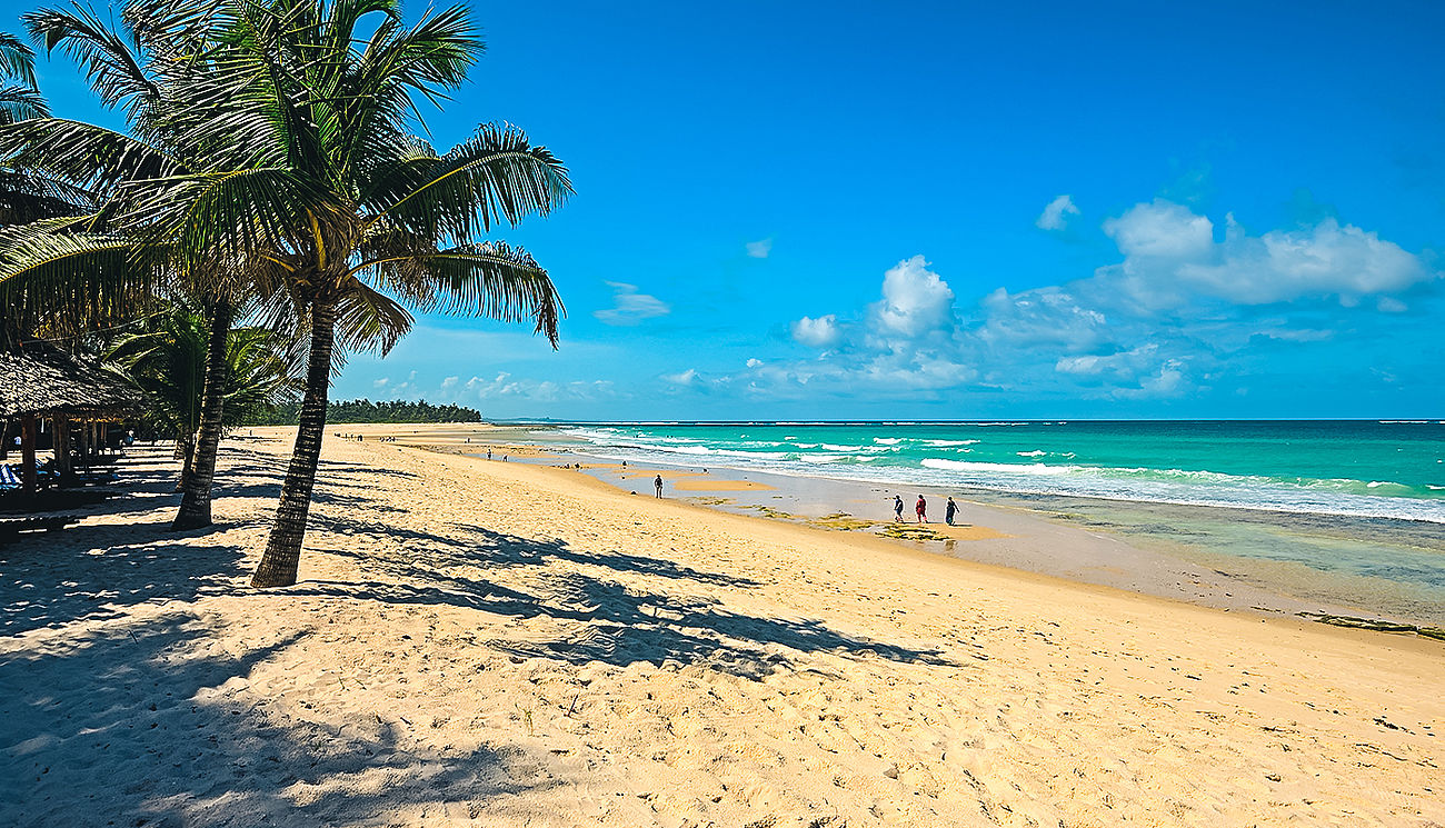 Diani Beach in Kenia
